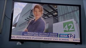 Erica Kravid Heroes Reborn
